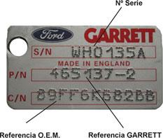 Placa garrett 2