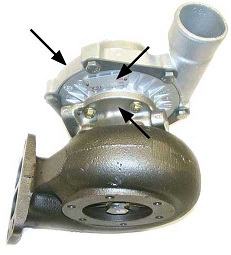 Localizacion chapa de un turbo