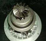 Turbina de turbocompresor